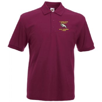 575 Fld Sqn Embroidered Polo Shirt